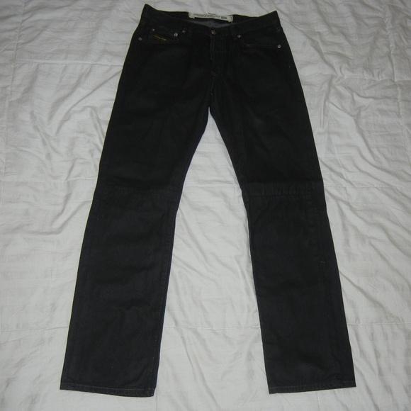 Diesel Other - Diesel Button Fly Black Denim Jeans men's 31 X 32